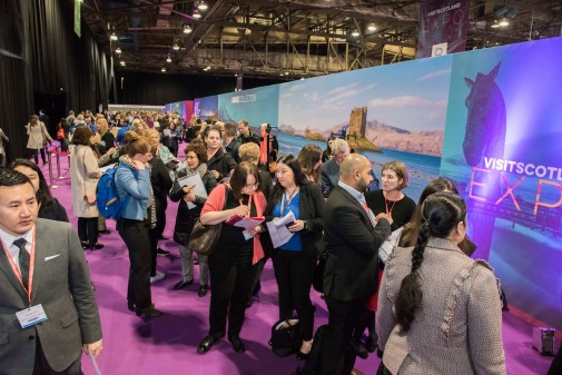 Day one of VisitScotland Expo 2019, credit Chris Watt